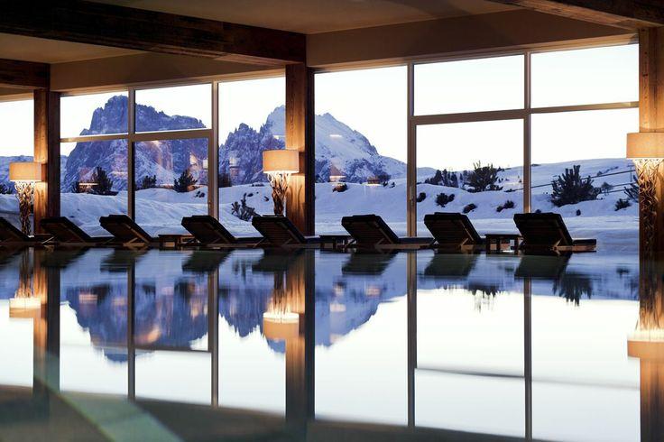 ALPINA DOLOMITES Gardena Health Lodge  Spa***** a 5 star Hotel on the #Seiser Alm plateau in South Tyrol - Italy