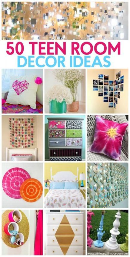 51+ Ideas For Diy Room Decir For Teens Girls Projects Fun