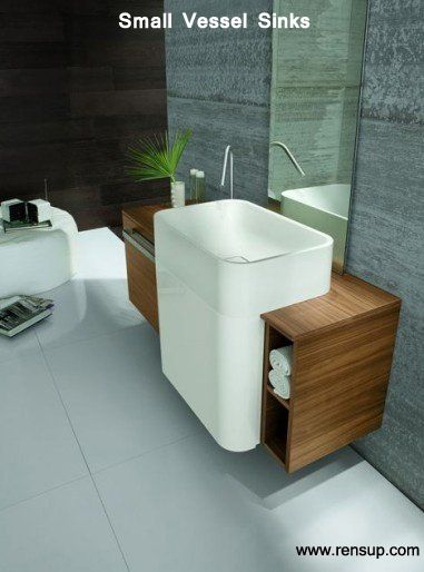 Awesome Websites Small Vessel Sinks Great Space Saving Idea for Cozy Bathrooms