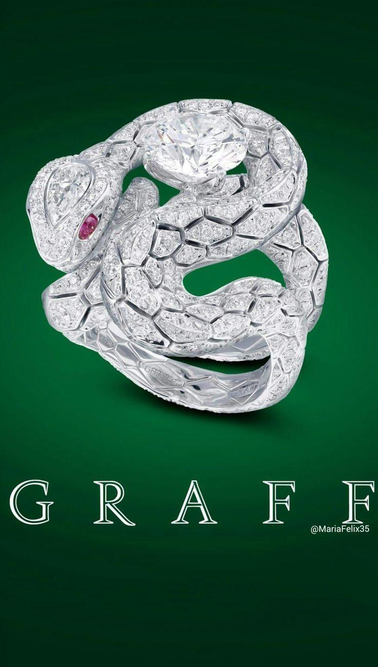 Poster design w graff - Graff Diamonds