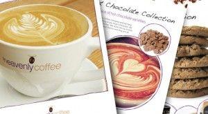 Heavenly coffee brochure