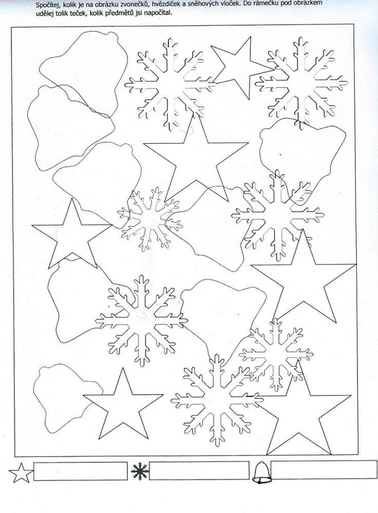 Počítání hvězd, zvonků a sněhových vloček