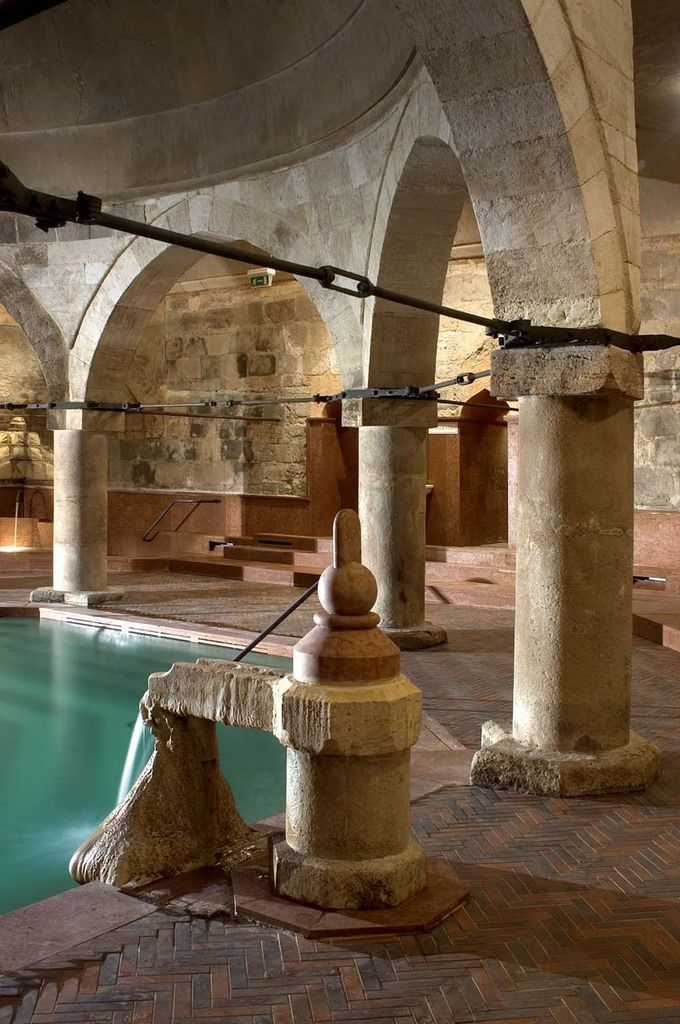 Rudas Thermal Bath Budapest #spa #omorovicza                                                                                                                                                     More