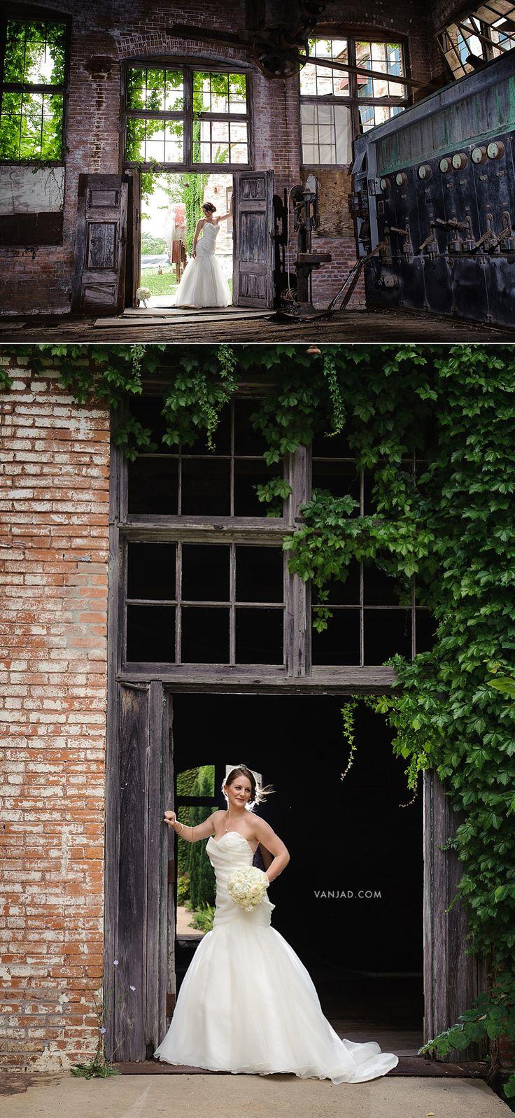 DALLAS WEDDING PHOTOGRAPHER | McKINNEY COTTON MILL | JULIE'S BRIDAL SESSION