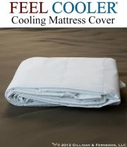 Feel Cooler Cooling Mattress Cover.  The Feel Cooler® Cooling Mattress Cover is the perfect accessory for any bed.