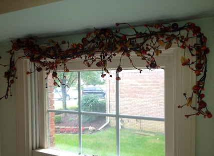 shoes with heels that will not wear down Window garland  Fabulous  Berries and grape vine great for front room