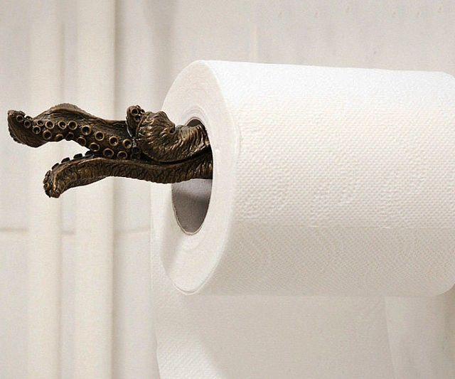 Install Toilet Roll Holder