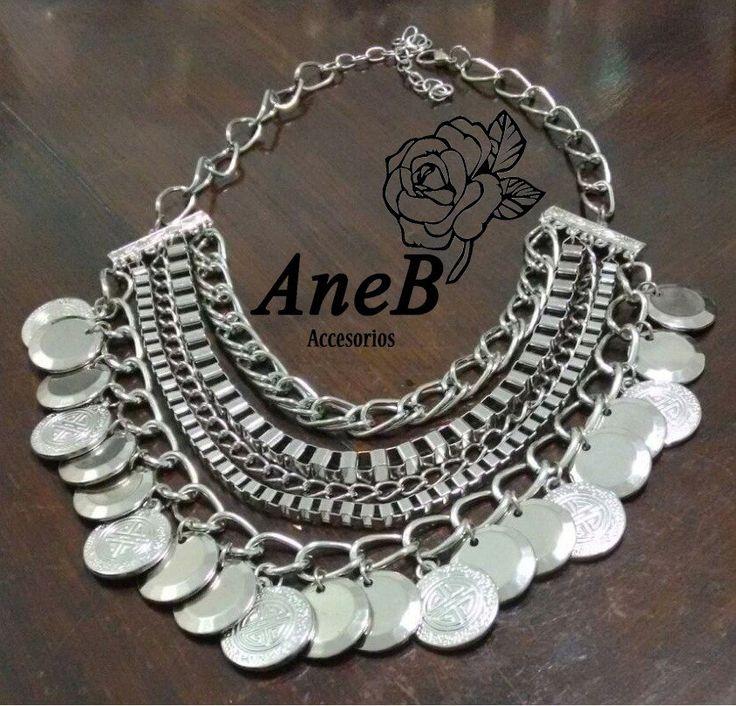 Collar Mujer - Pechera Alta Moda - $ 219,99 en MercadoLibre