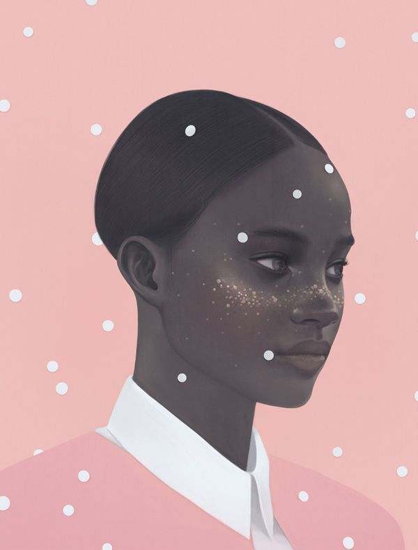 Soft and Delicate Digital Portraits by Hsiao-Ron Cheng