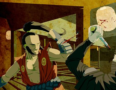 """Check out new work on my @Behance portfolio: """"Nocturnal Duel"""" http://be.net/gallery/37051929/Nocturnal-Duel"""