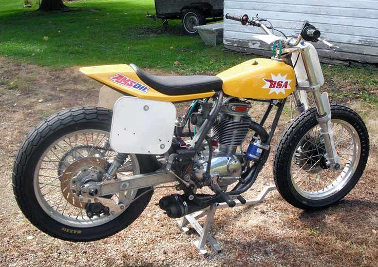 BSA - B50 Flat Track Motorcycle - Beautiful British Flat Tracker
