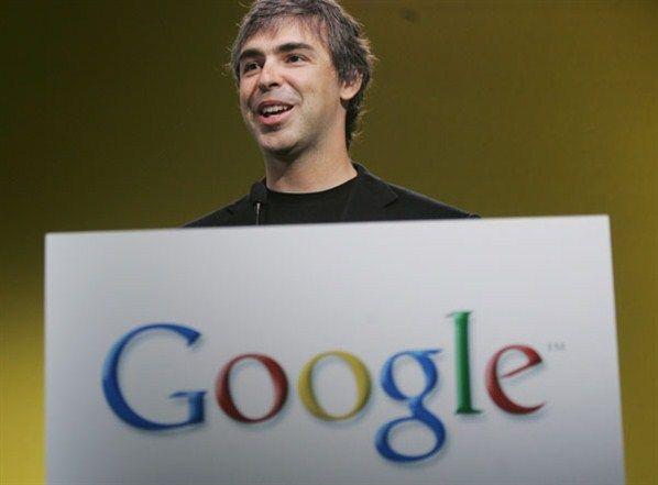 Qui sont les hommes les plus influents de 2011?  3. Larry Page, cofondateur de Google et chef de la direction