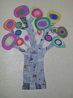Mr. Kandinsky circle tree