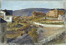 Smithebakken 1870 - Nå Hegdehaugsveien