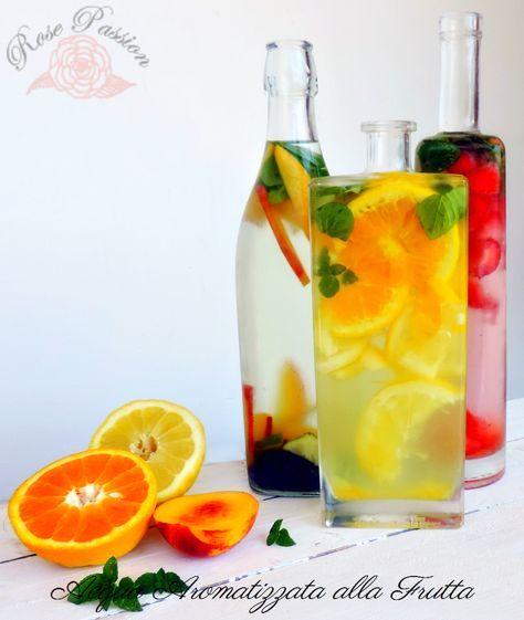 Acqua aromatizzata alla frutta