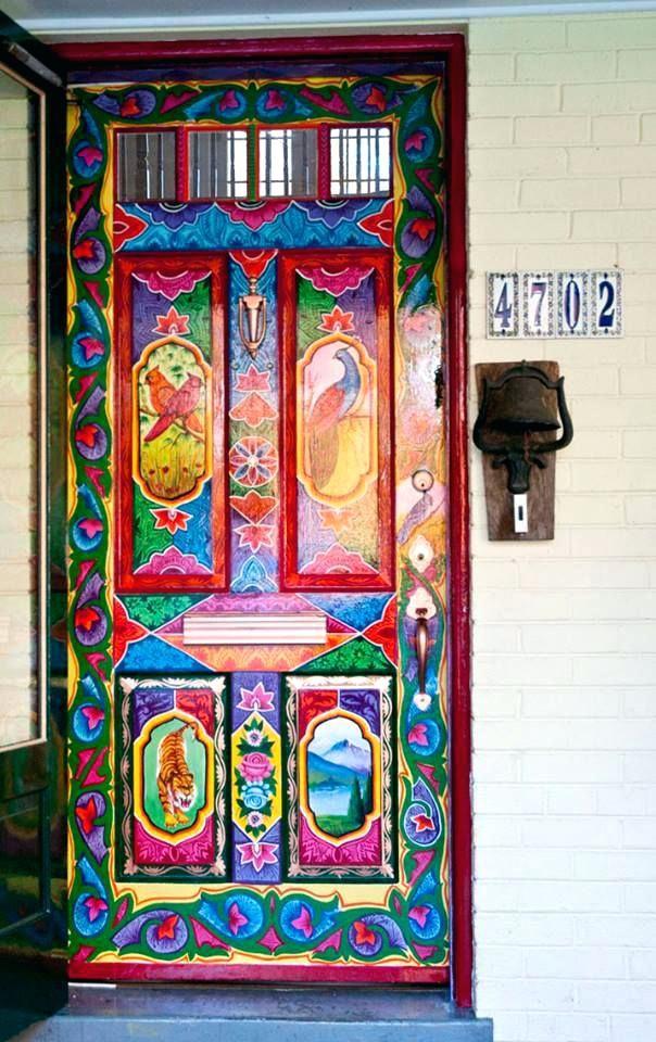 20 Brilliant Bedroom Door Painting Ideas Painted Doors Unique Doors Cool Doors