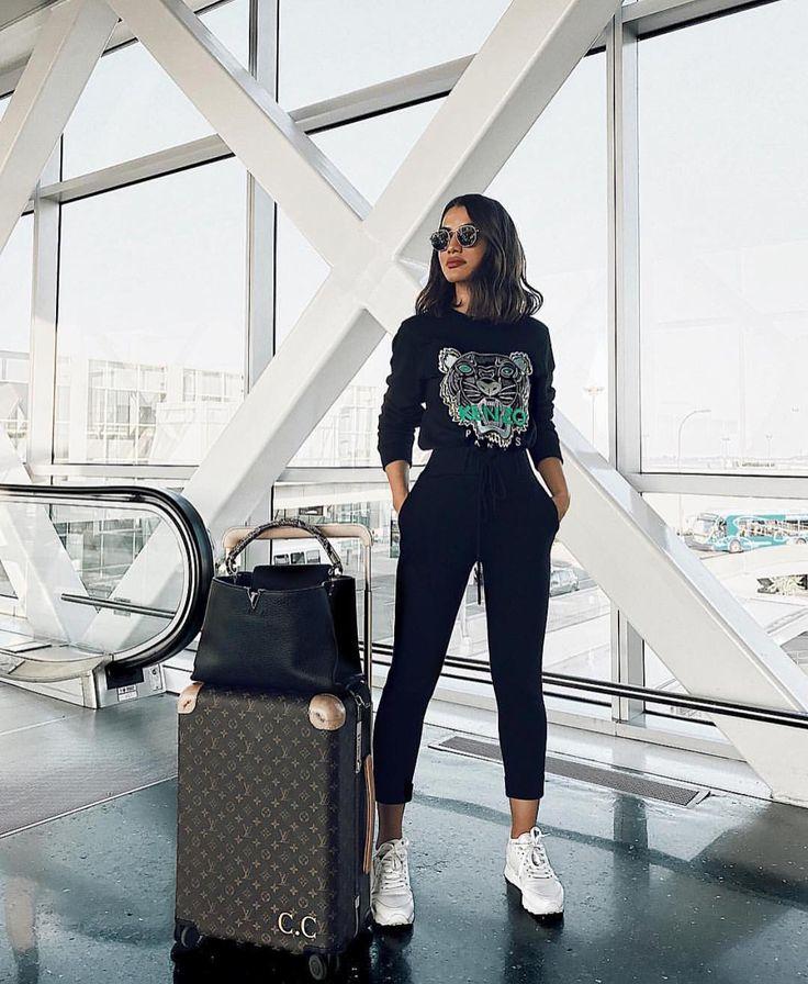 """Gefällt 7,585 Mal, 8 Kommentare – Stylecliche auf Instagram: """"Airport style via Senstylable S"""""""