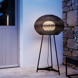 floor-standing lamp / contemporary / polyethylene / outdoor