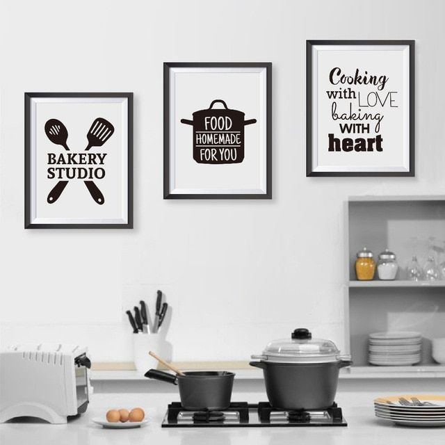 Kitchen Wall Stickers Coffee Sweet Food DIY Wall Art Decal Decoration  ZP
