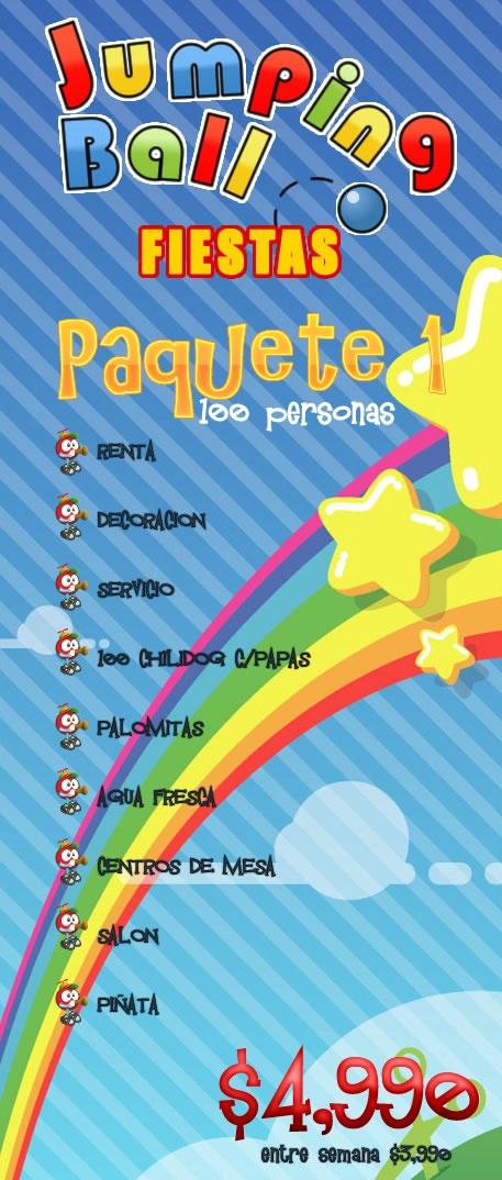 .:Jumping Ball:. - Salones fiestas Infantiles Monterrey