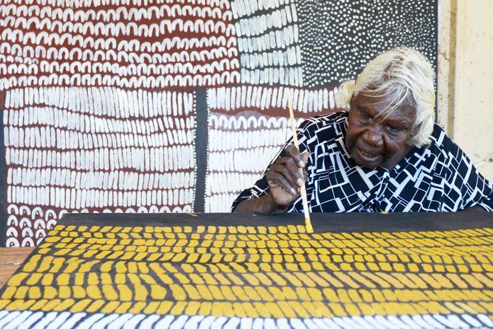 Lena Nyadbi at work.