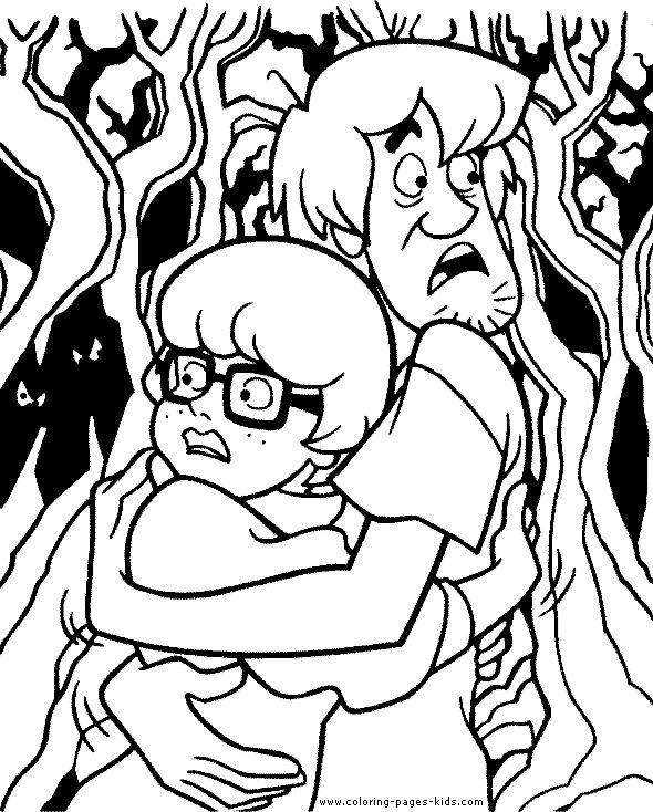 25 best images about scooby doo on pinterest for Scooby doo coloring pages halloween