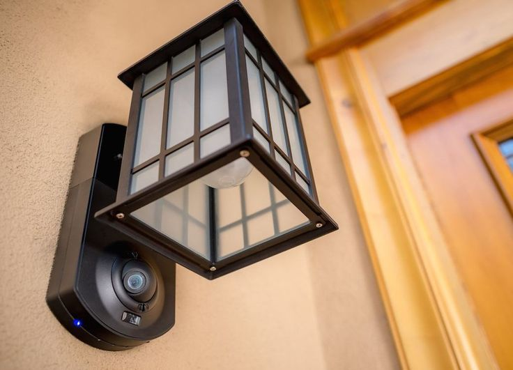 The 25 best kuna security ideas on pinterest kuna camera kuna kuna integrated smart home security light and video intercom with glass outdoor wall lantern mozeypictures Image collections
