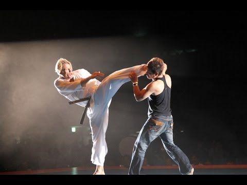 Dolph Lundgren :【新極真会】第10回全世界空手道選手権大会 特別演武