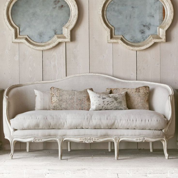Eloquence Seraphine Canape Sofe Oyster Linen