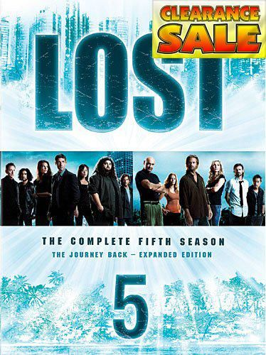 #spring2018 The epic story of #Lost twists, turns and time-shifts in its outstanding fifth season. Packed with bonus material, including a revealing interview wi...