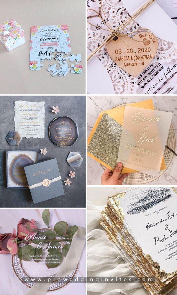 Gold Foil Script On Vellum Paper Invitation Pwig008 Pro Wedding Invites In 2020 Invitation Paper Wedding Invitations Vellum Paper