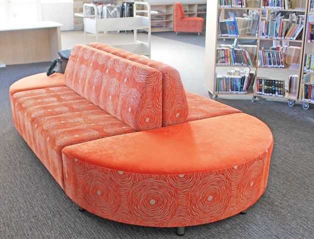Beautiful seating that compliments your library and draws the students in