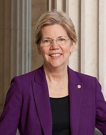 Elizabeth Warren, Senior Senator, Massachusetts. First woman to represent Massachusetts in the Senate. Previously a Harvard Law School professor
