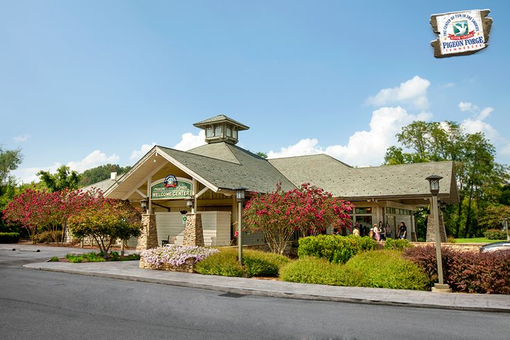 Stop by the #PigeonForge Welcome Center for extra savings and assistance during your vacation.