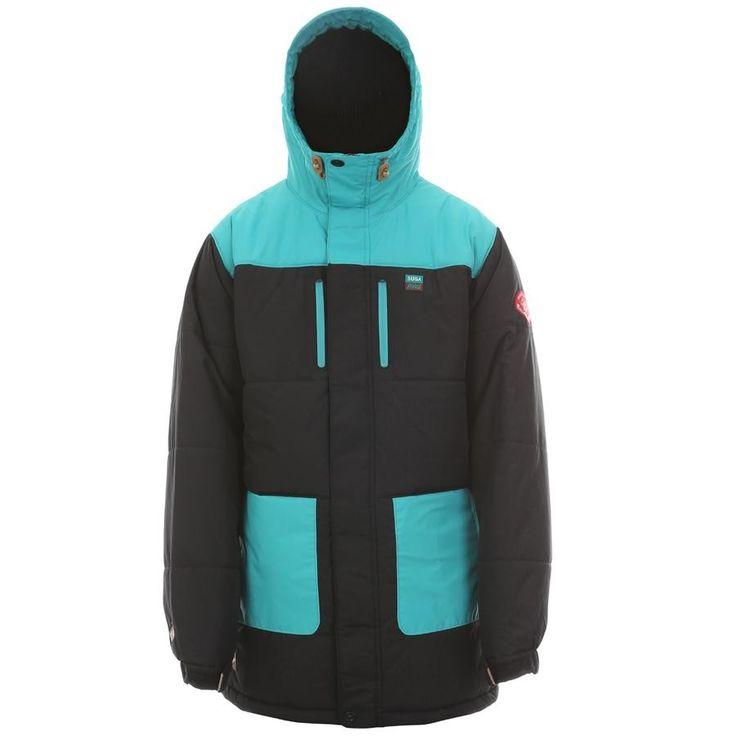 SugaPoint Fremont Jacket (Emerald/Black) Mens Jackets at 7TWENTY Boardshop, Inc
