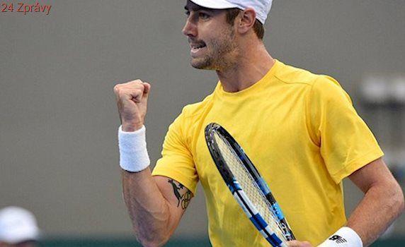 Čtvrtfinále Davis Cupu: Thompson zaskočil Socka, Austrálie vede nad USA 2:0