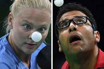 These Hyperfocused Olympic Table Tennis Players Will Make You Feel Alone AF Warning: language