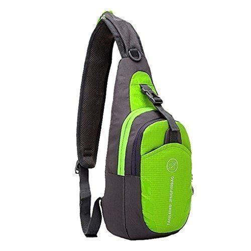 Oferta: 13.99€. Comprar Ofertas de EGOGO multifuncional 3 capas senderismo ciclismo bolsa Sling Pack con correa de hombro ajustable cruzan cuerpo pecho bolsa Sl barato. ¡Mira las ofertas!