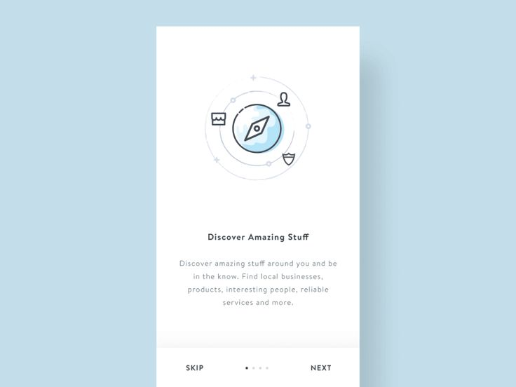 Onboarding inspiration for mobile apps — Muzli -Design Inspiration — Medium