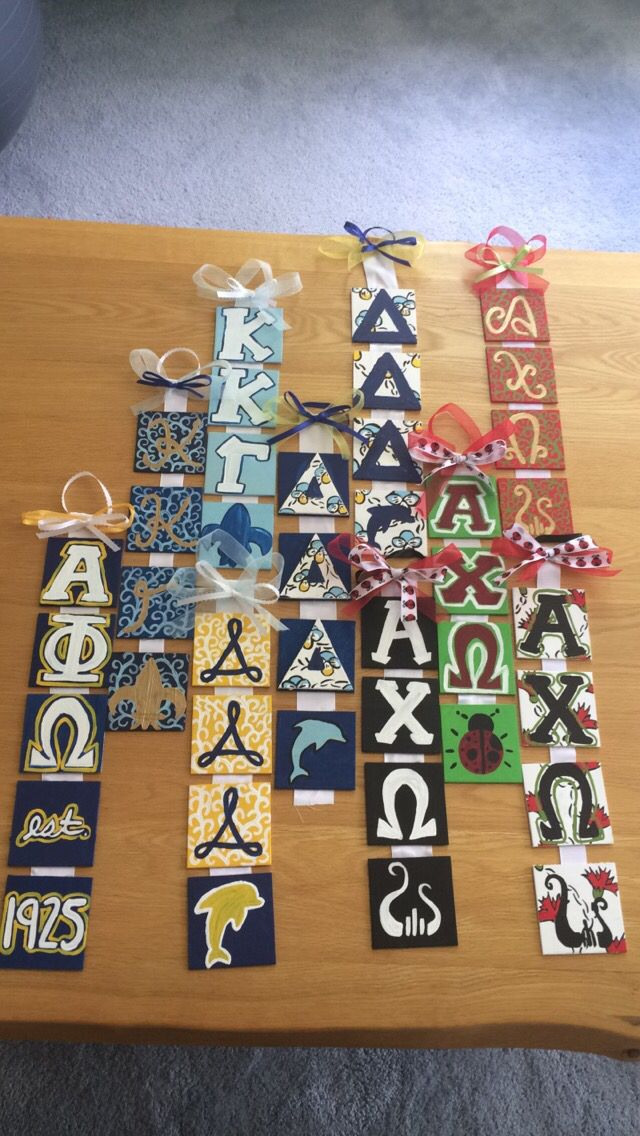Use with board fabric #sorority_crafts_gifts