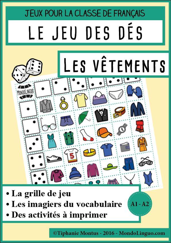 JDD - Les vêtements | Mondolinguo - Français