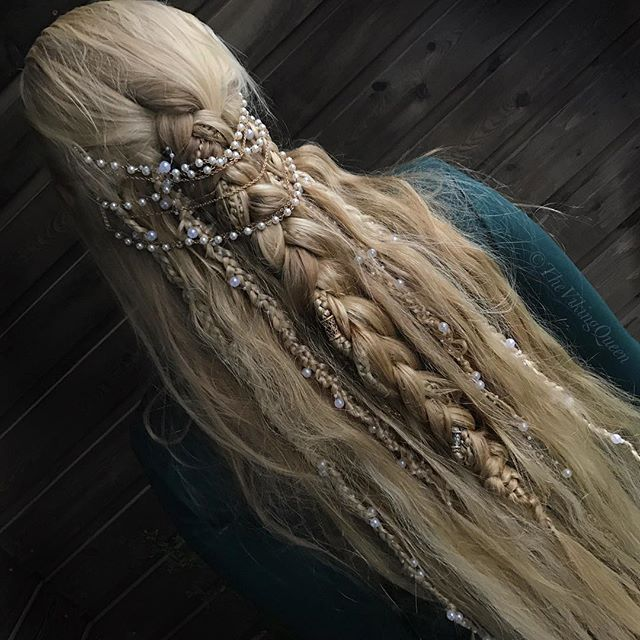 Glorious Heathen Viking Hairstyle by The Viking Queen