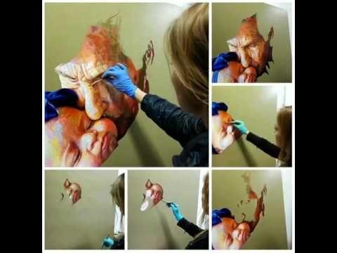Proceso de pintura al óleo - YouTube