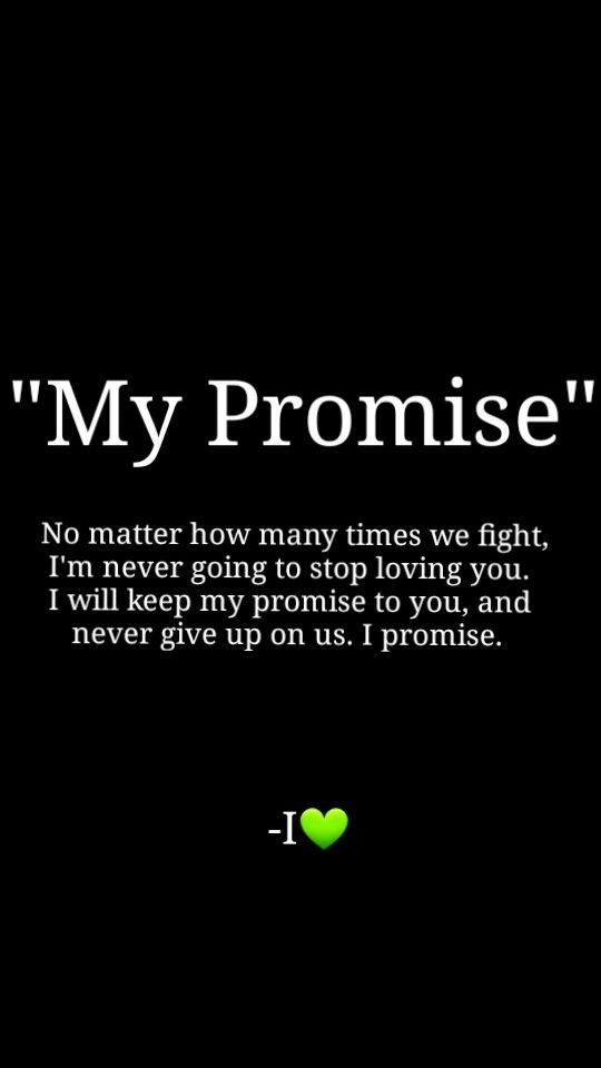 Although we NEVER FIGHT this is true ❤️