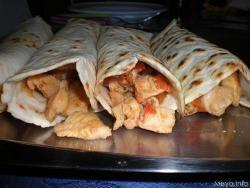 Fajitas con pollo - ricetta fajitas messicane con pollo e peperoni
