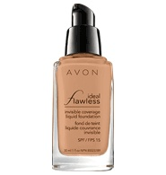 A Medium to Full Coverage foundation that is WEIGHTLESS on the face.  SPF 15 and shades to match everyone... and it's only $11 bucks.  If you LOVE Smashbox Studio Skin then you'll love AVON Ideal Flawless. So people are saying this is a good product...need to test it for myself.
