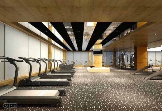 Ceiling design inspiration for sfo exercise room yoga