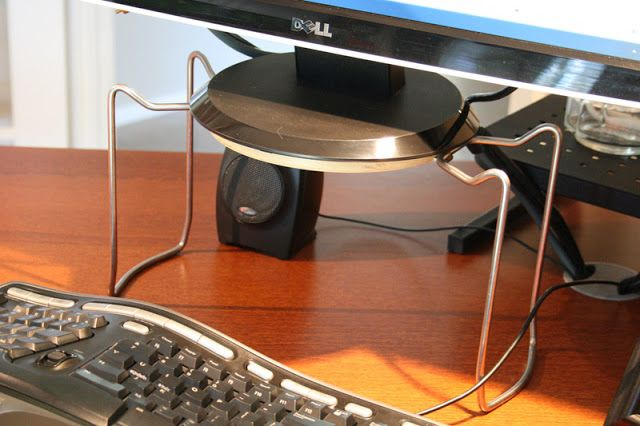 Would this really be as sturdy as he says?  IKEA Hackers: Rationell Variera monitor stands