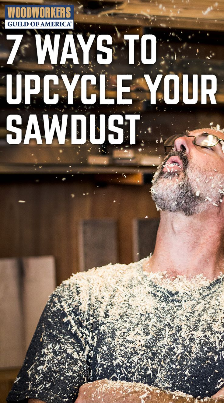 DIY Woodworking Ideas Got lots of sawdust sitting around your shop? Of course you do, you're a woodw...