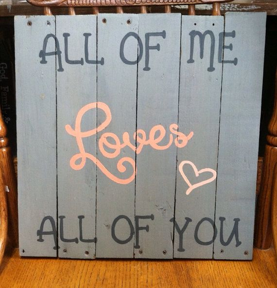 Great Valentines day gift. Love quote on reclaimed barn wood sign. on Etsy, $30.00